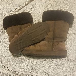 Ugg women's brown boots size 10